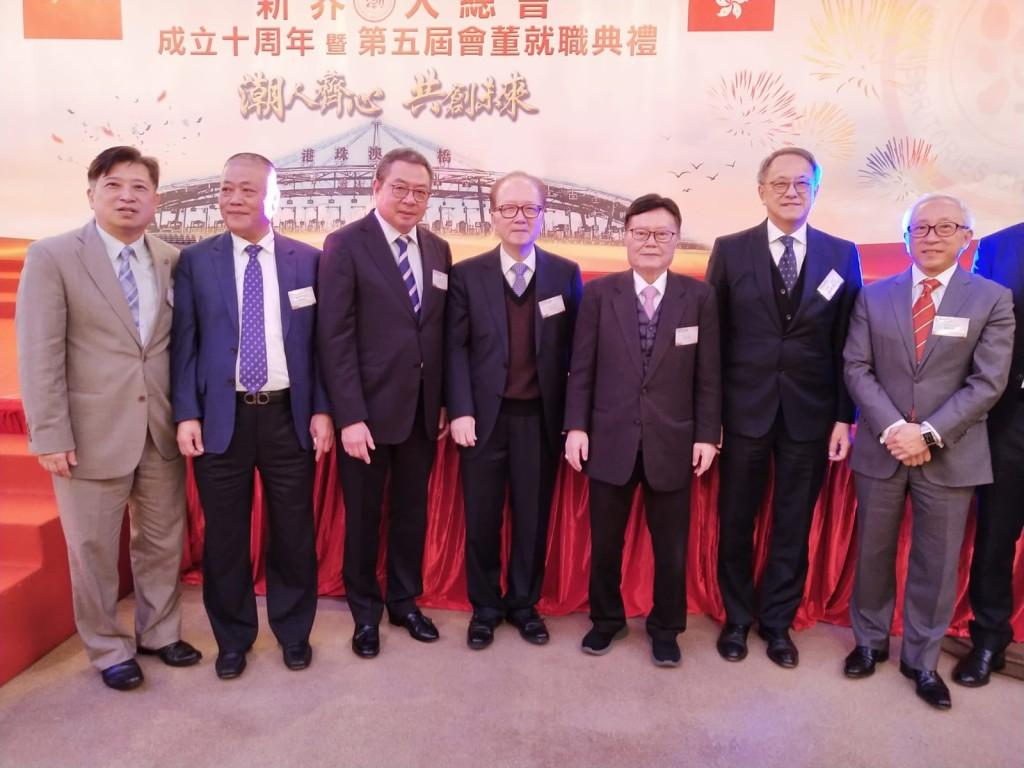 左起:周駿達、胡澤民、陳幼南、張成雄、馬介璋、林宣亮、鄭敬凱