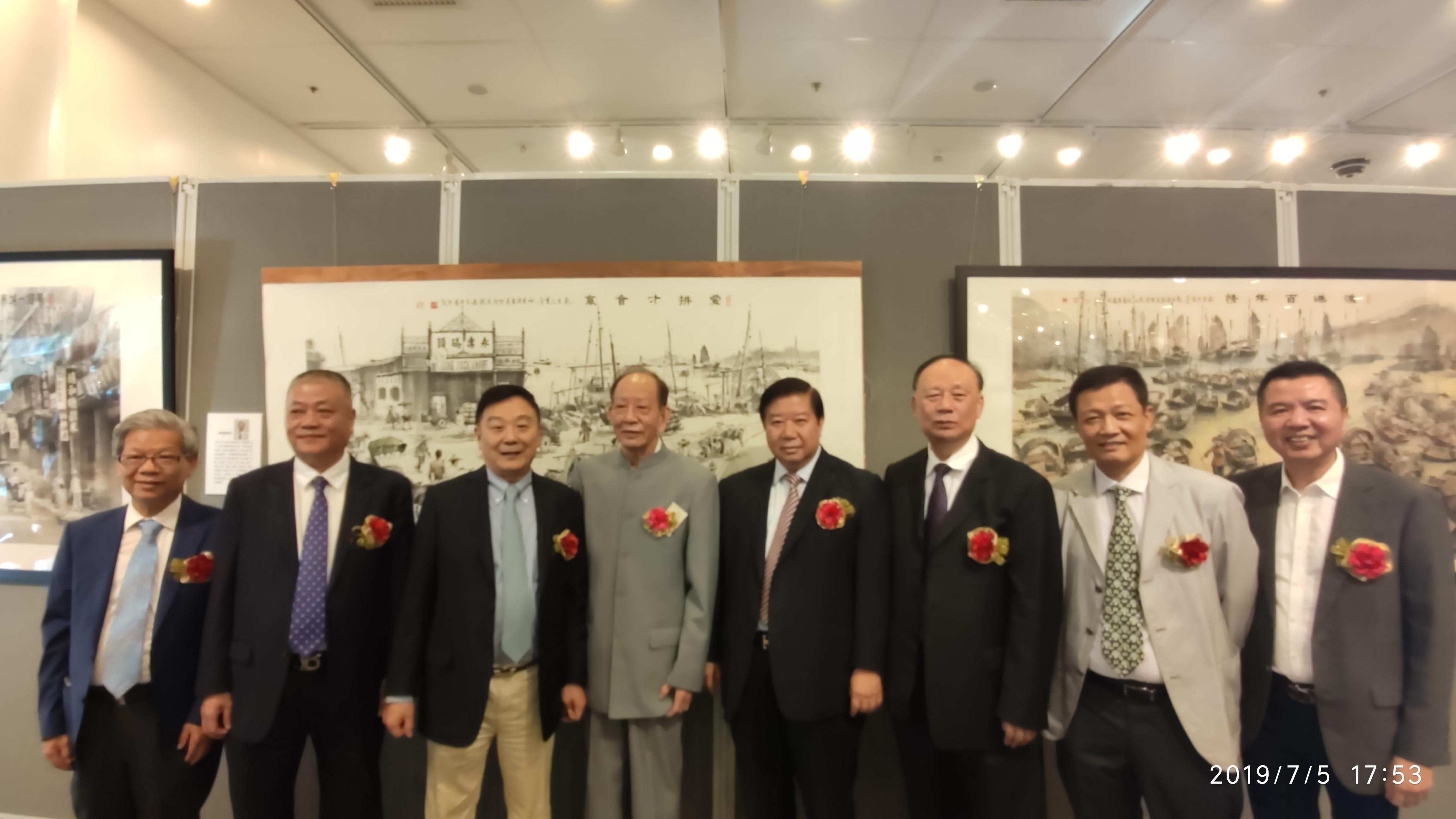 左起:楊劍青、胡澤文、劉宗明、陳家義、黃書銳、吳哲歆