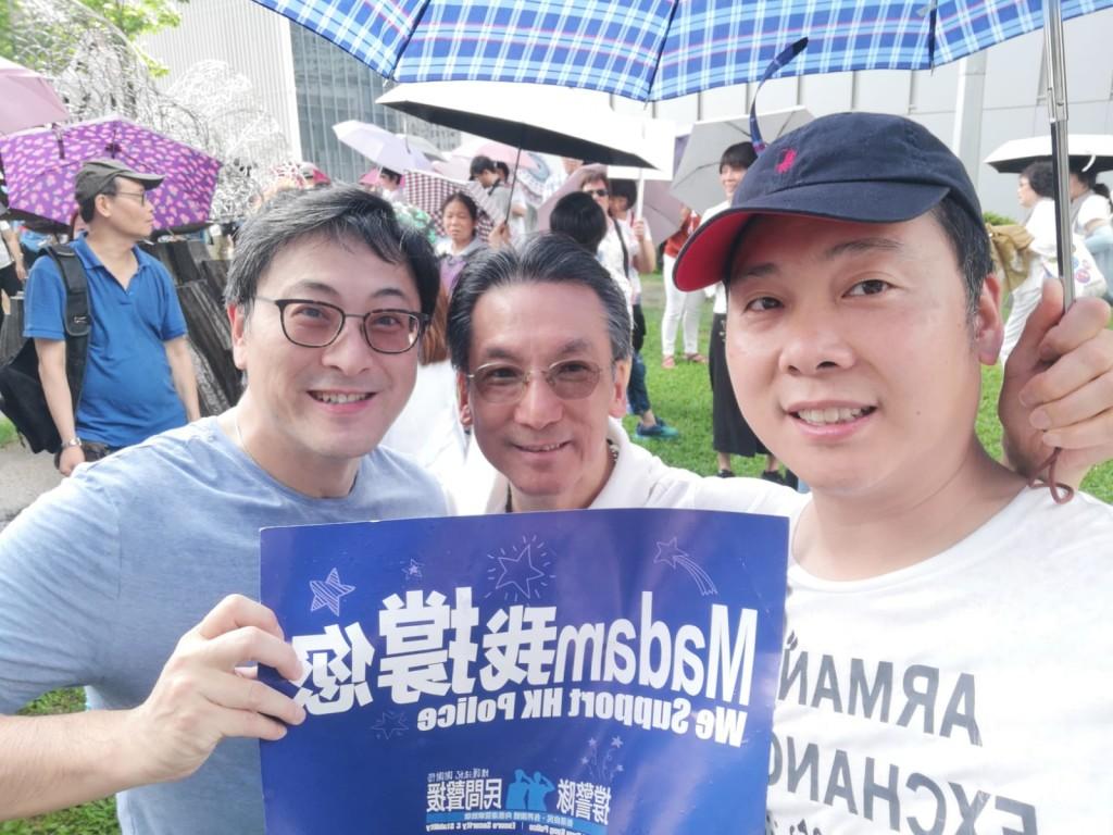 左起:陳志強、吳茂松、陳偉杰