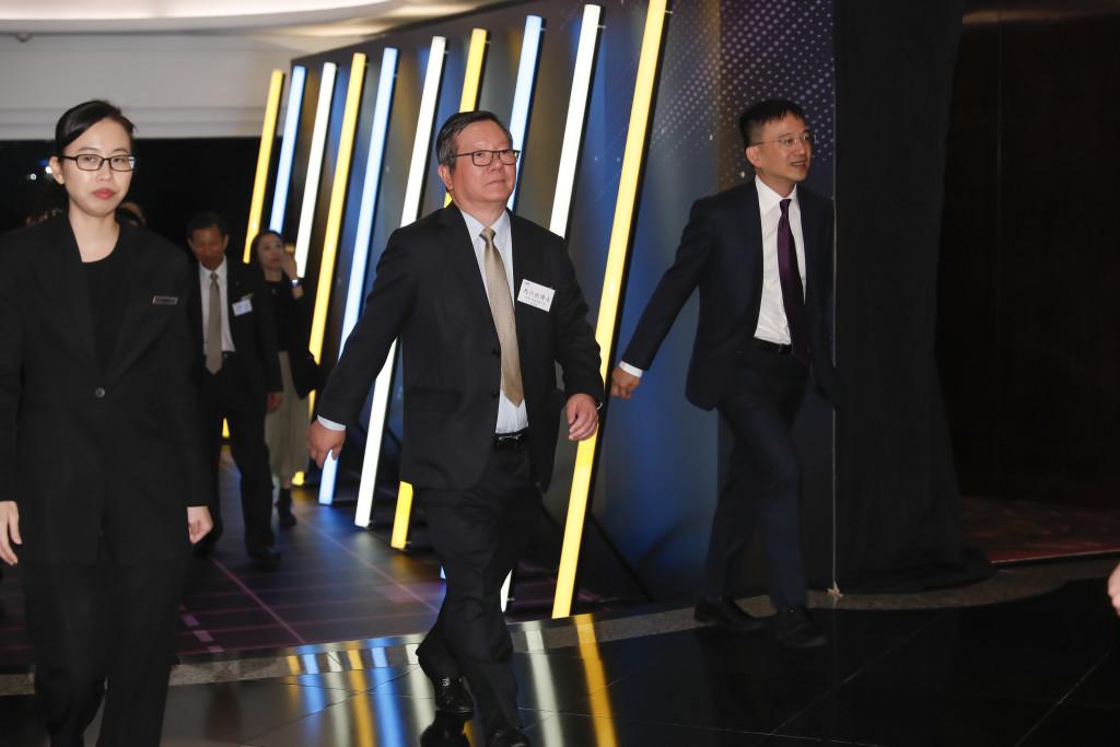 本會常務會董馬介欽(中)出席香港中華廠商聯合會85週年慶典