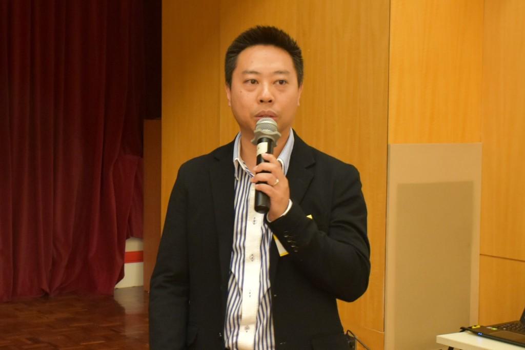 潮州會館中學主任顏智樑講述如何透過資訊科技促進自主學習s