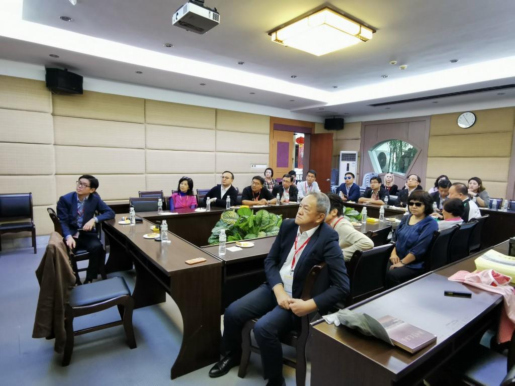 32. 在潮州饒宗頤學術館舉辦潮汕文化主題演講座談會
