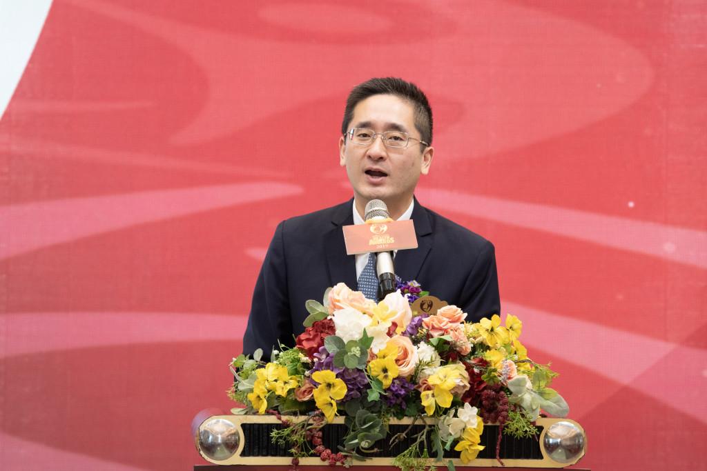 商務及經濟發展局副局長陳百里致辭