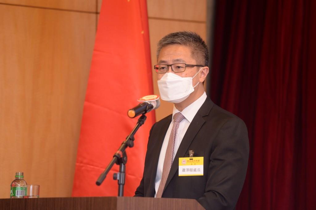 處長蕭澤頤擔任演講嘉賓
